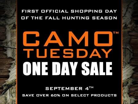 September 4th Camo Tuesday