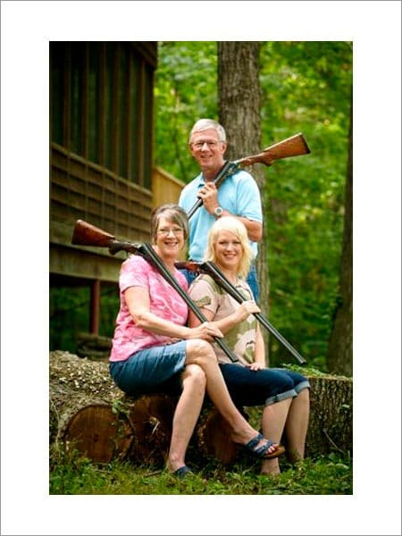 Larry, Brenda and Sara Potterfield