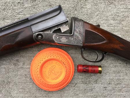 An old Parker Single Barrel Trap Gun