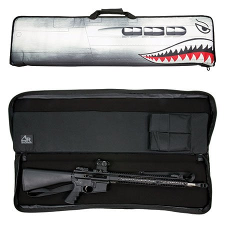 Now Available at MidwayUSA AR-Stoner Heavy Duty Discreet Tactical Rifle Case with Nose Art