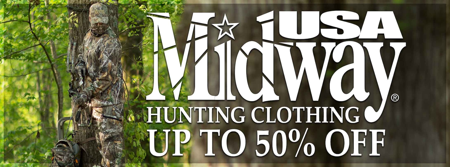 Shop MidwayUSA Hunting Clothing!