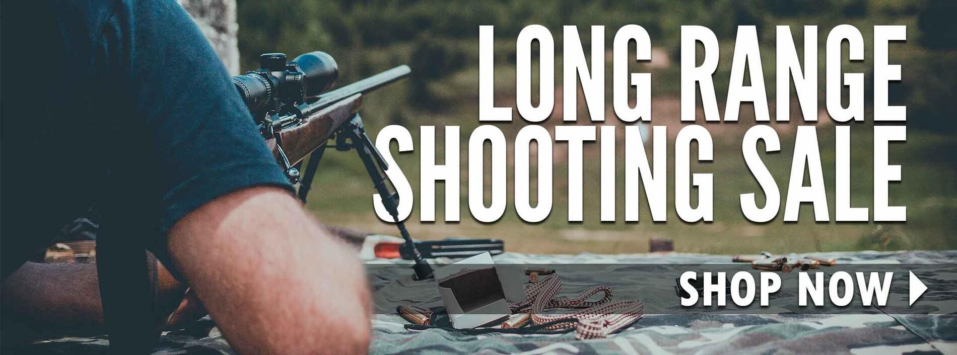 Long Range Shooting Sale!