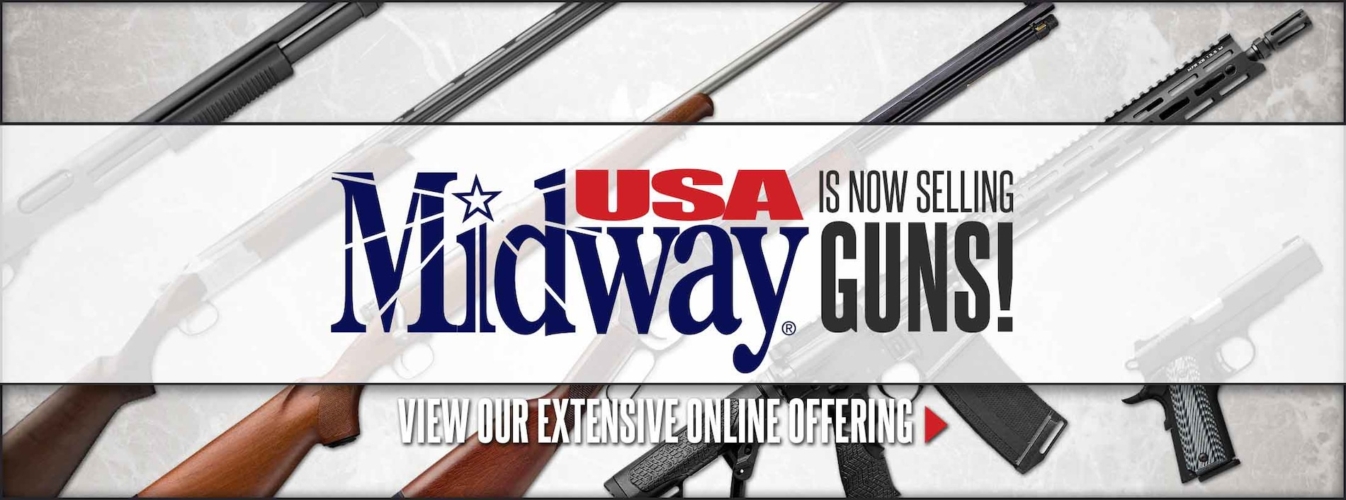 MidwayUSA Now Sells Guns