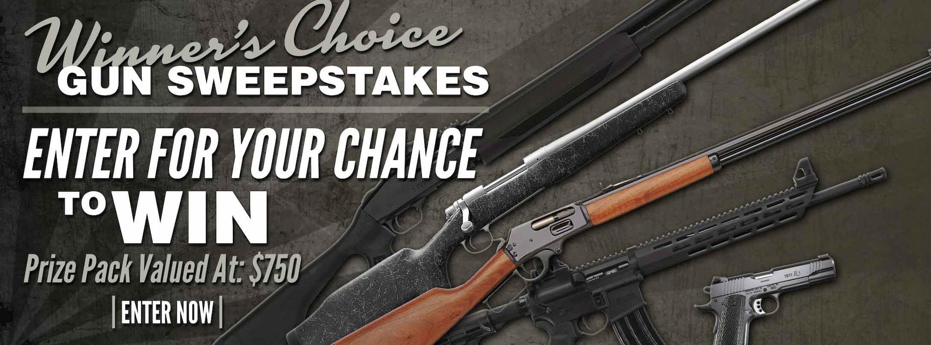 Chance to Win A Gun!