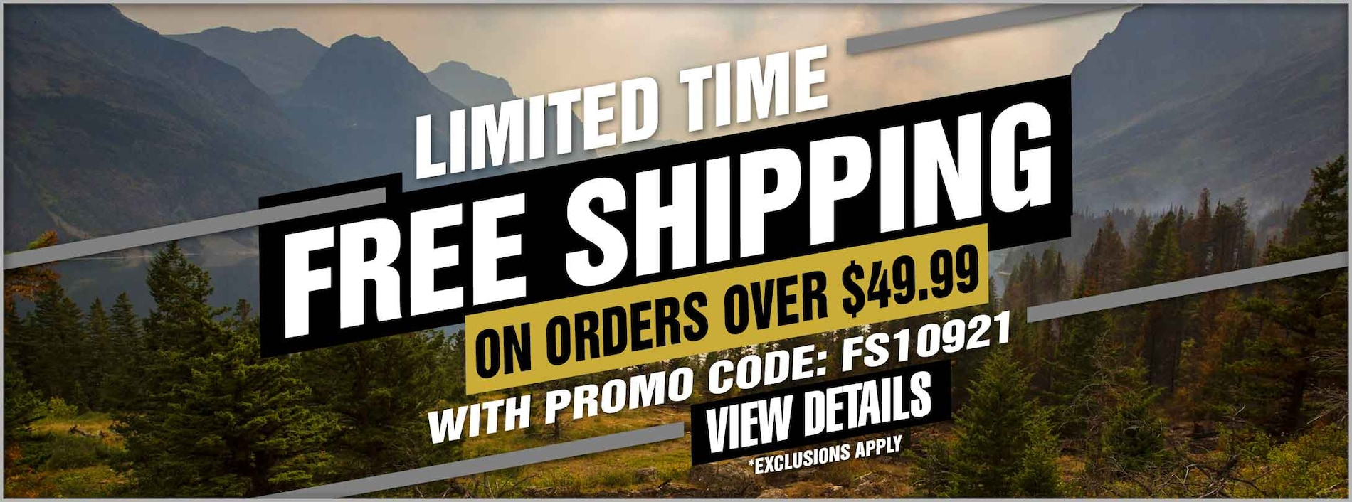 Free Shipping on $49.99 Orders