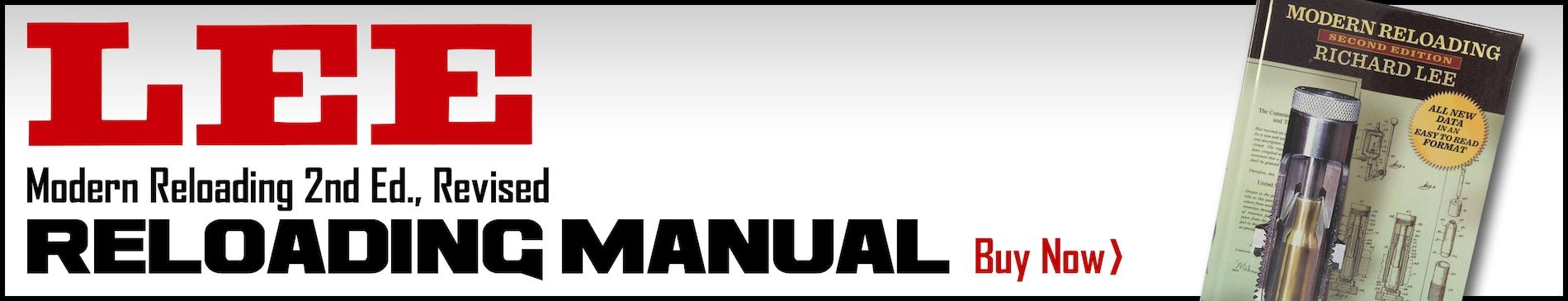 Lee Reloading Manual