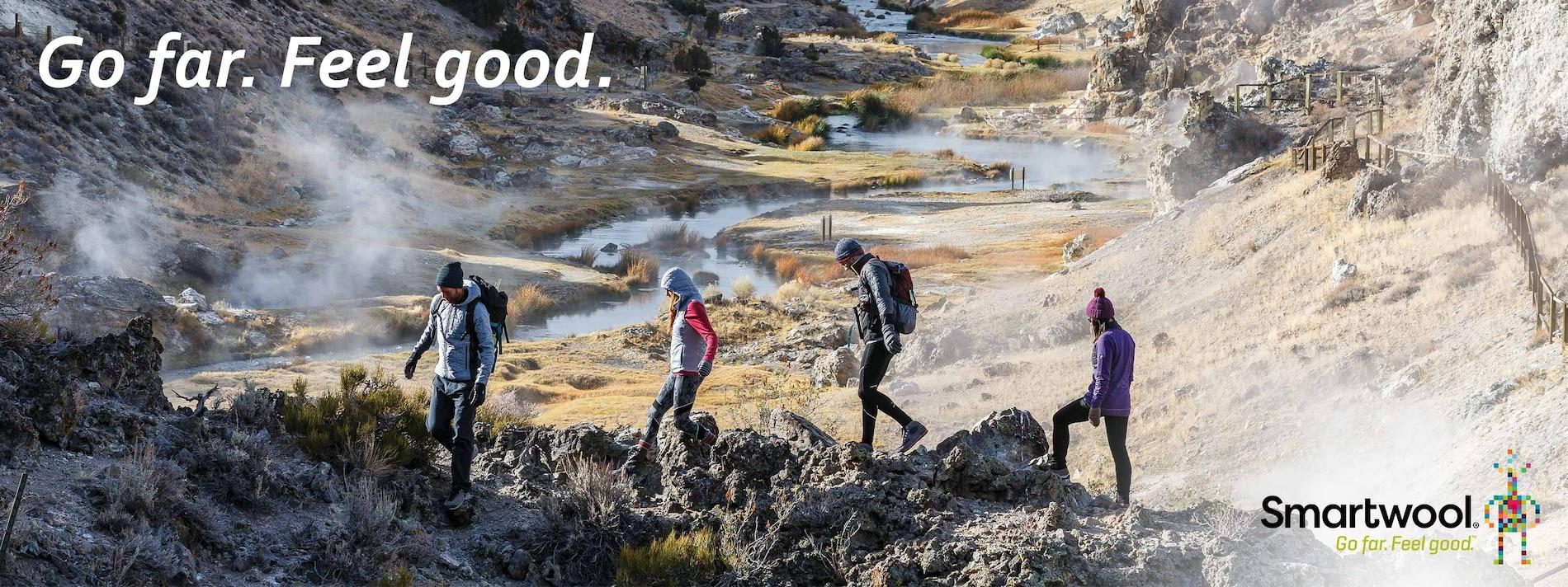 Go far. Feel Good. Shop Smartwool