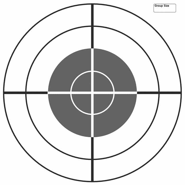 photograph about Printable Air Rifle Targets known as Free of charge Plans - MidwayUSA