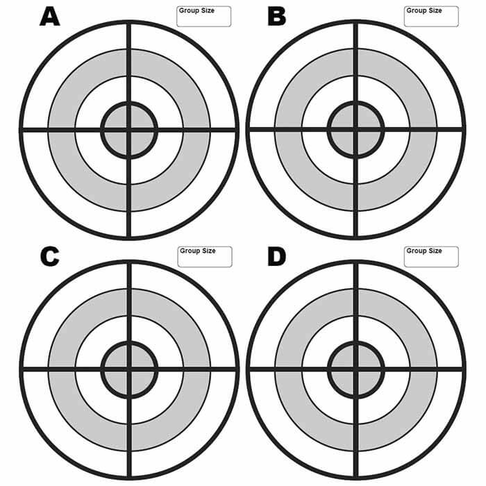 picture relating to Printable Pistol Drill Targets referred to as Cost-free Objectives - MidwayUSA