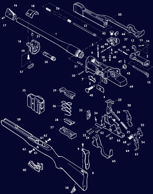 Ruger Mini 14 Schematic