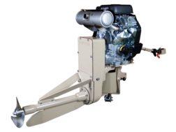 Beavertail 37 HP Vanguard EFI Surface Drive Gas Powered Motor Short