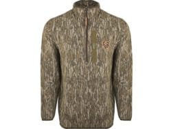 d6004847bd2fe Drake Non-Typical Men's Lightweight Scent Control Camo Tech 1/4 Zip Long  Sleeve