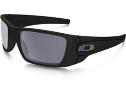 d677b4ed23a Oakley SI Fuel Cell Thin Blue Line Sunglasses Black Frame Gray Lens