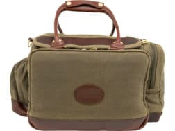 Midwayusa Waxed Canvas Pistol Range Bag Olive Brown