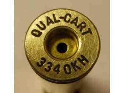 Quality Cartridge Reloading Brass 334 OKH Box of 20