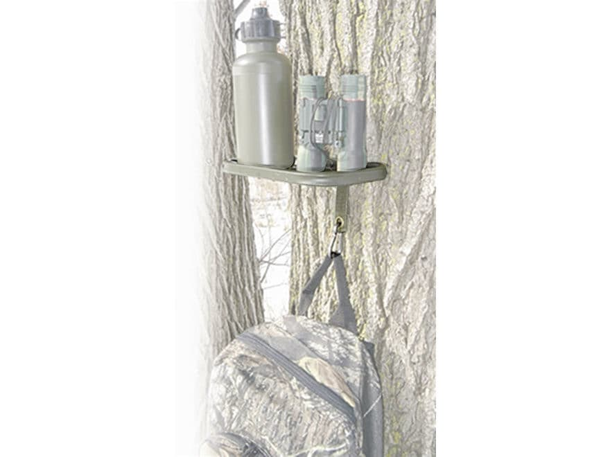 HME Tree Shelf Treestand Accessory Hanger Steel Brown