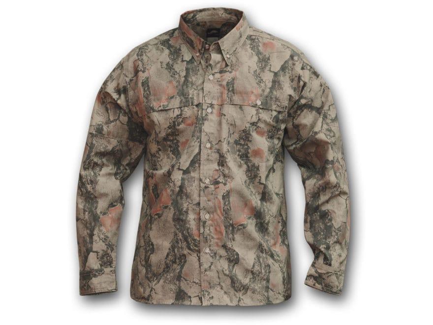 Natural Gear Men's Bush Shirt Long Sleeve Cotton