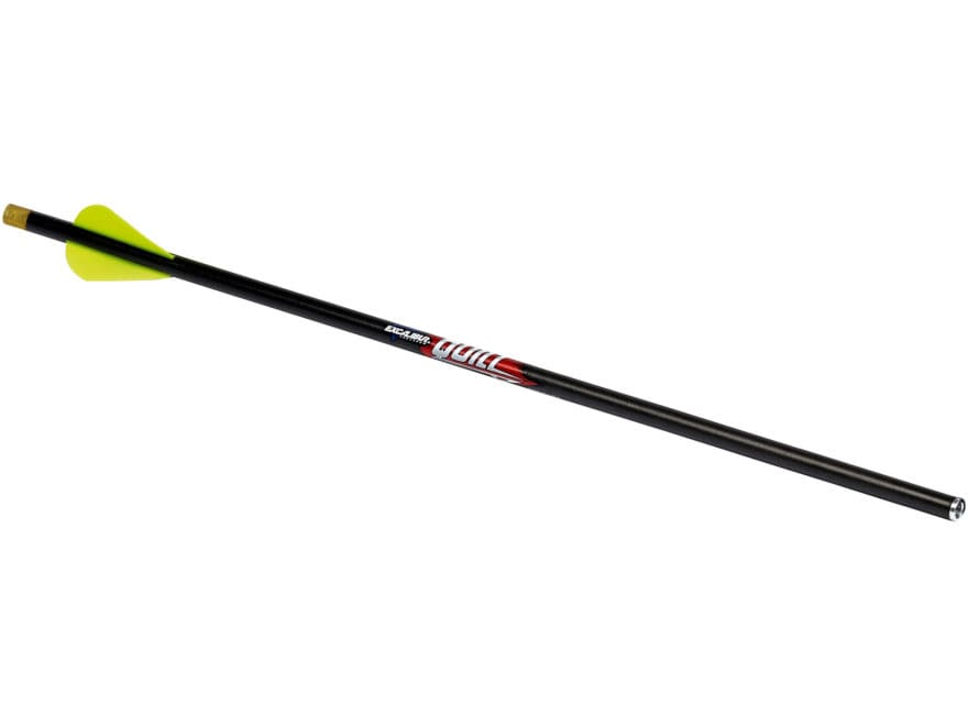 "Excalibur Quill 16.5"" Carbon Crossbow Bolt For Micro Crossbows 2"" Vanes Lighted Nocks B..."