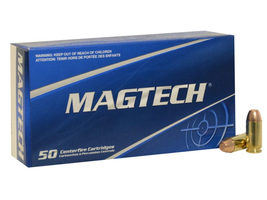 Magtech Sport Ammunition 40 S&W 180 Grain Full Metal Jacket