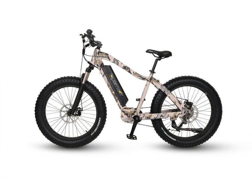 QuietKat Warrior 1000W 8-Speed Motorized Bike