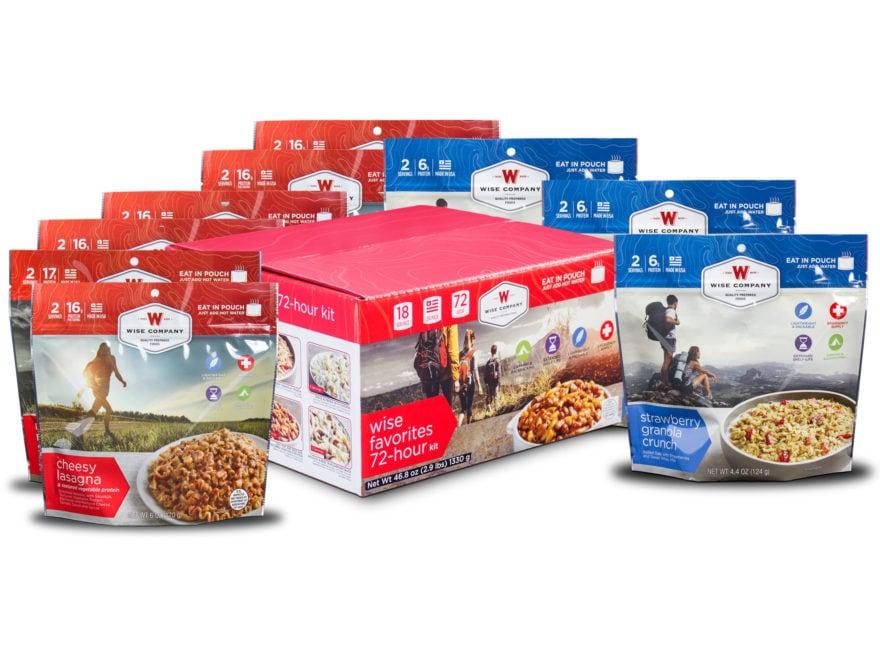 Wise Company Favorites 72 Hour Freeze Dried Food Kit