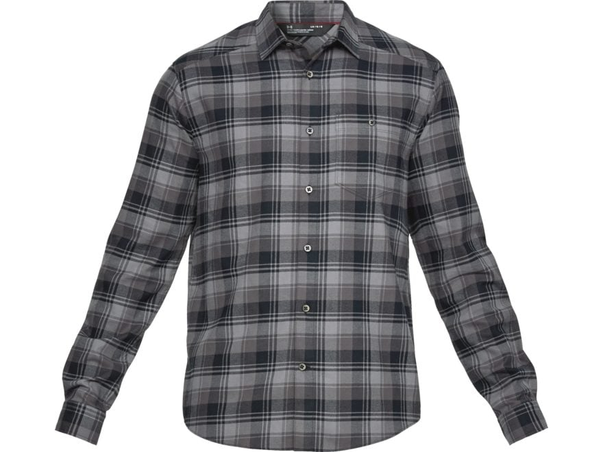Under Armour Men's UA Tradesmen Flannel Shirt Long Sleeve Charged Cotton