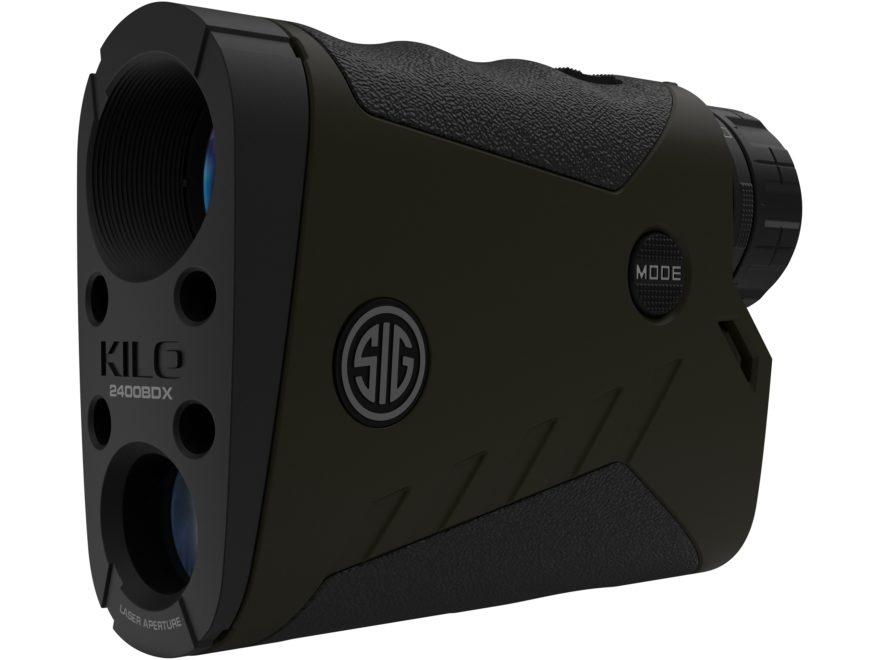 Sig Sauer KILO2400BDX Ballistic Data Xchange Laser Range Finder 7x 25mm with Milling Re...