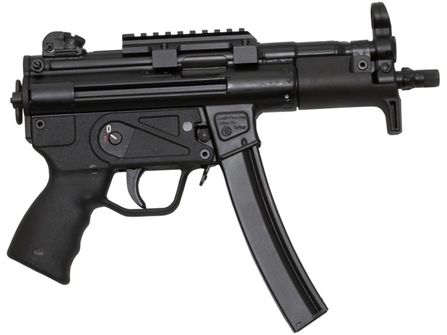"Zenith Z-5P Pistol 9mm Luger 5.8"" Barrel 30-Round Matte Synthetic Black"
