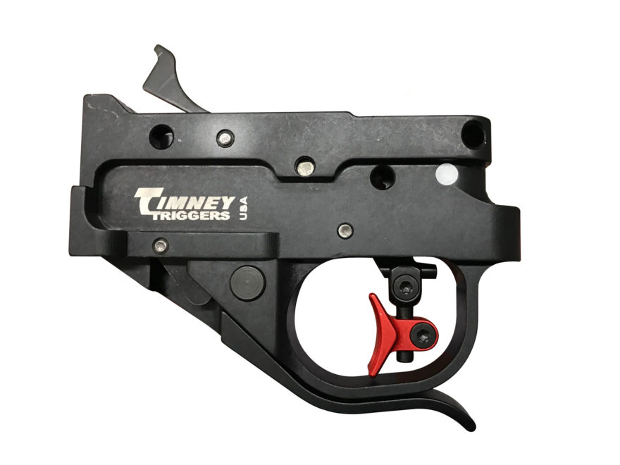 Timney Calvin Elite Adjustable Trigger Guard Assembly Ruger 10/22 2-3/4 lb Aluminum Red...