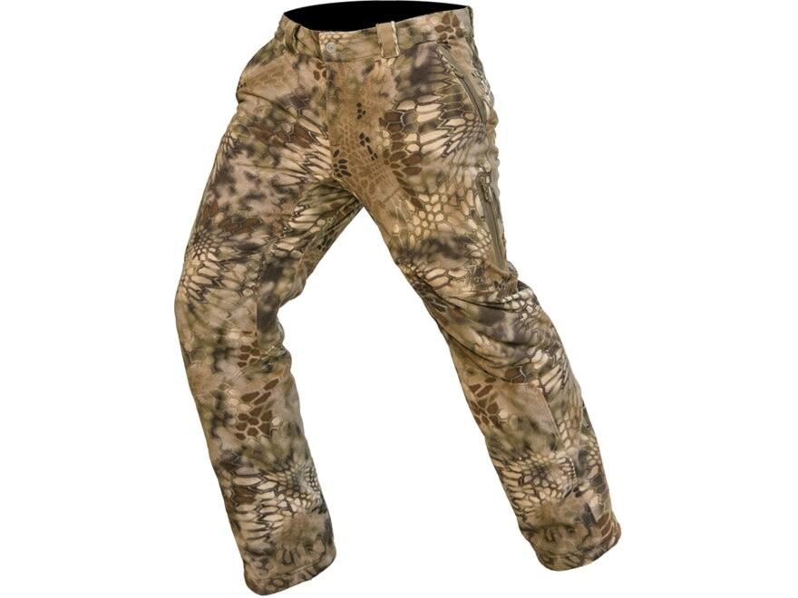 Kryptek Men's Vellus Insulated Fleece Pants Polyester Highlander Camo