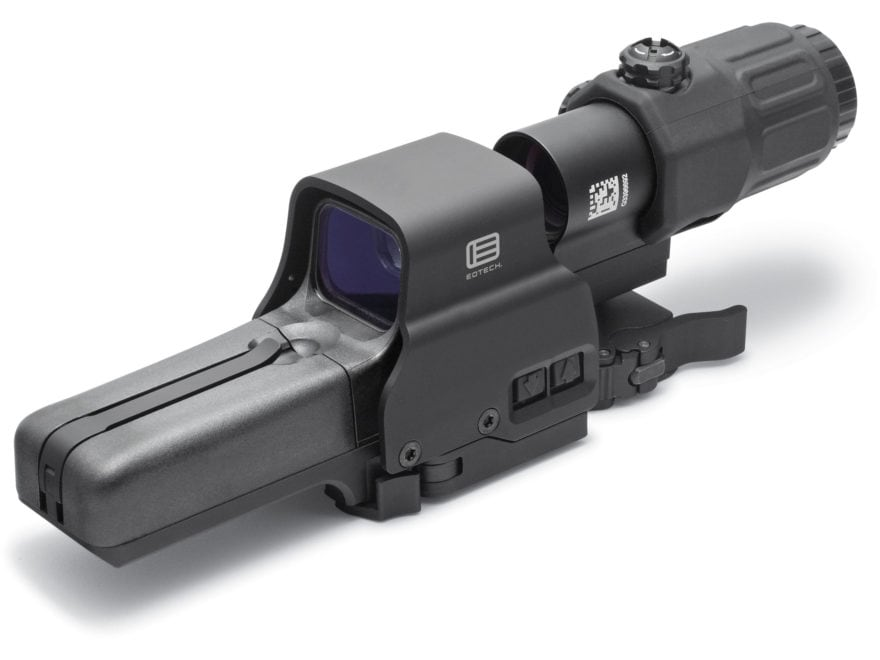 EOTech Holographic Hybrid Sight III 68 MOA Circle with (2) 1 MOA Dots Reticle with G33 ...