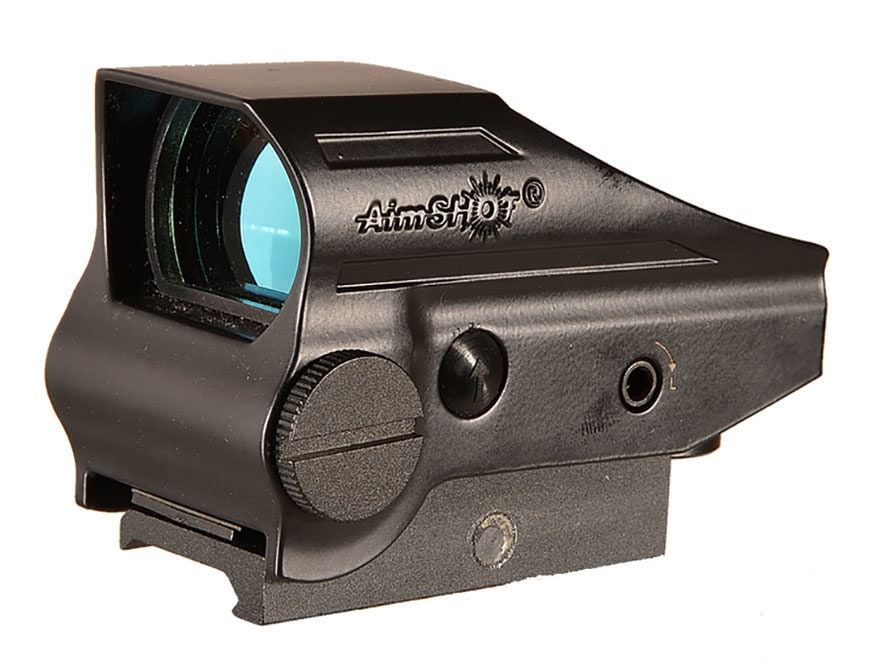 AimShot Compact Reflex Red Dot Sight 1x Green Reticle Matte