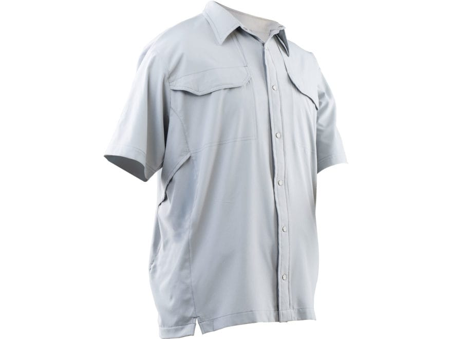 Tru-Spec Men's 24-7 Cool Camp Shirt Short Sleeve Polyester