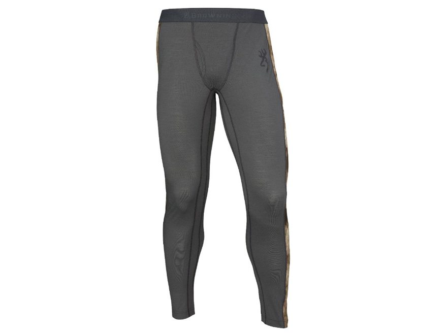 Browning Men's Hell's Canyon Speed MHS-FM Base Layer Pants Merino Wool Blend