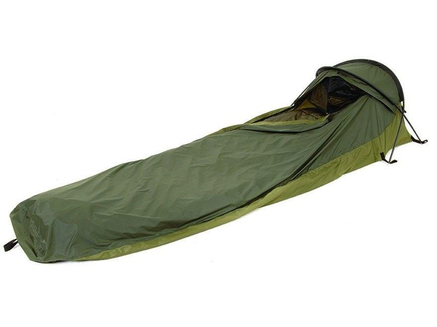 "Snugpak Stratosphere 1 Person Bivvy Shelter 91"" x 32"" x 20"" Nylon Olive"