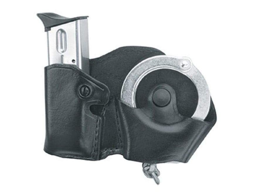 Gould & Goodrich B841 Belt Handcuff and Magazine Carrier Right Hand Beretta 92, 96, Sig...