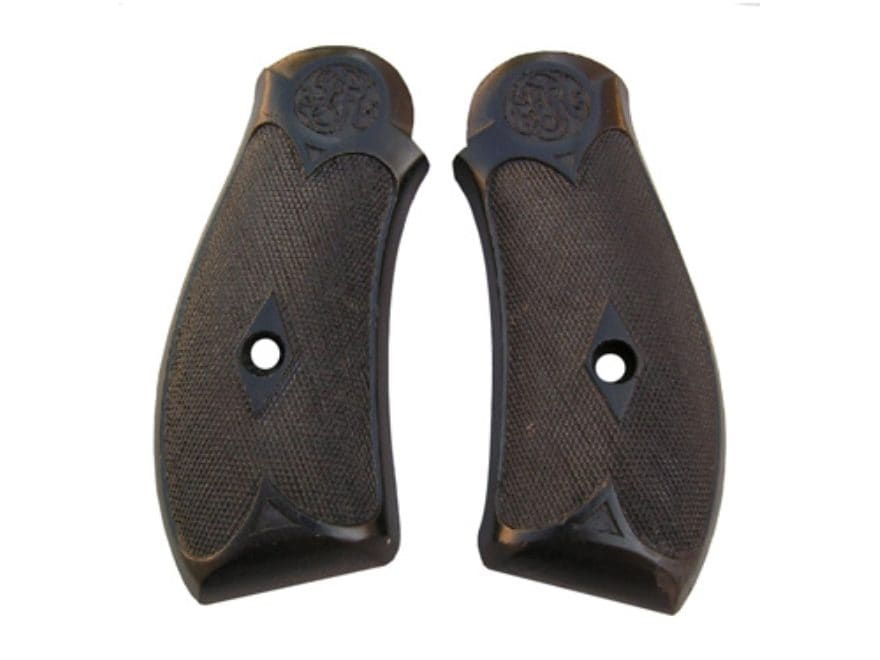 Vintage Gun Grips Frontier Army 44 Caliber Polymer Black