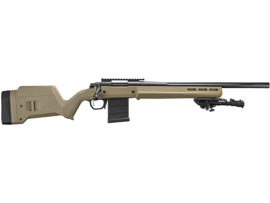 "Remington 700 Magpul Enhanced Rifle 20"" Fluted Heavy Barrel Matte Flat Dark Earth"