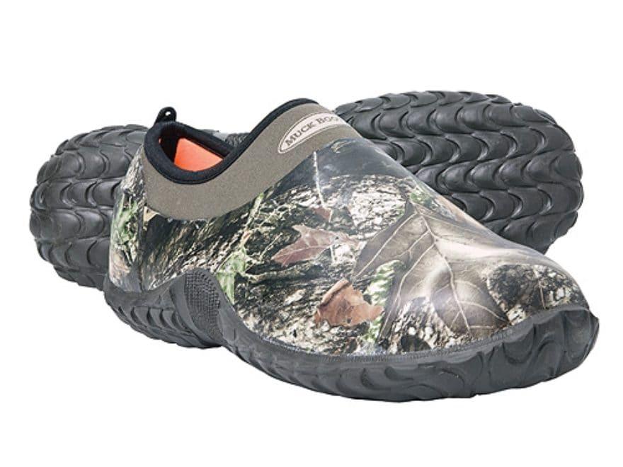 b755ebc0334f Muck Camo Camp Shoes Rubber Nylon Mossy Oak Break-Up Camo Men s 14