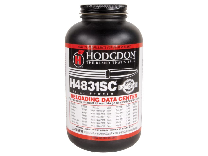 Hodgdon H4831SC Smokeless Gun Powder