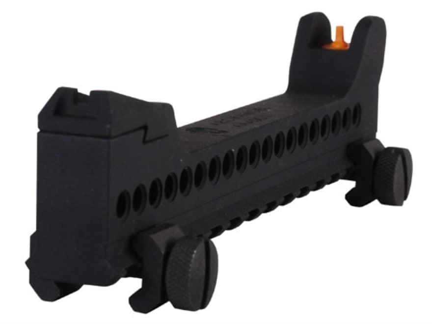 Archangel Auxiliary Sight for AR-15 Handguard Black