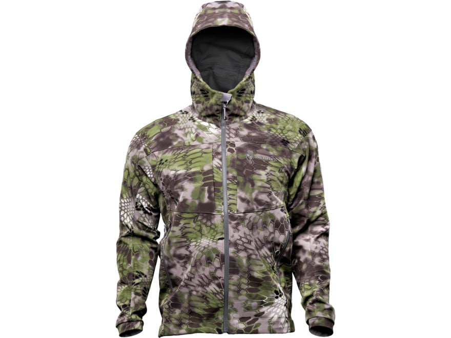Kryptek Altitude Men's Bora Softshell Windproof Jacket Synthetic Blend