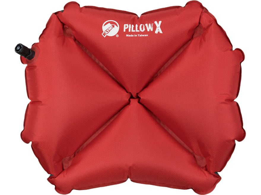 Klymit Pillow X Polyester Red and Gray