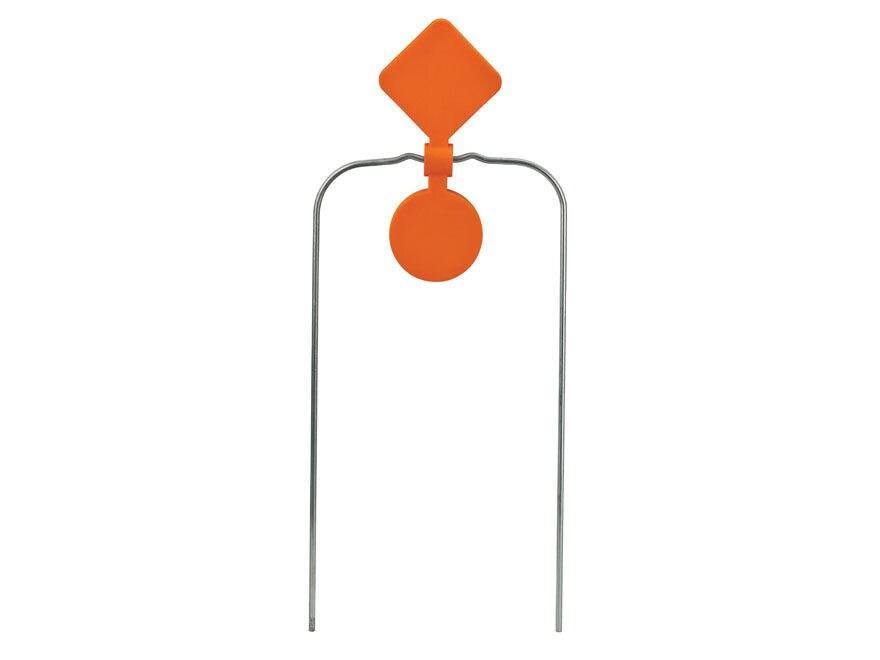 "Champion DuraSeal Double Spinner Reactive Target 7"" x 2-1/2"" Ballistic Polymer Orange"