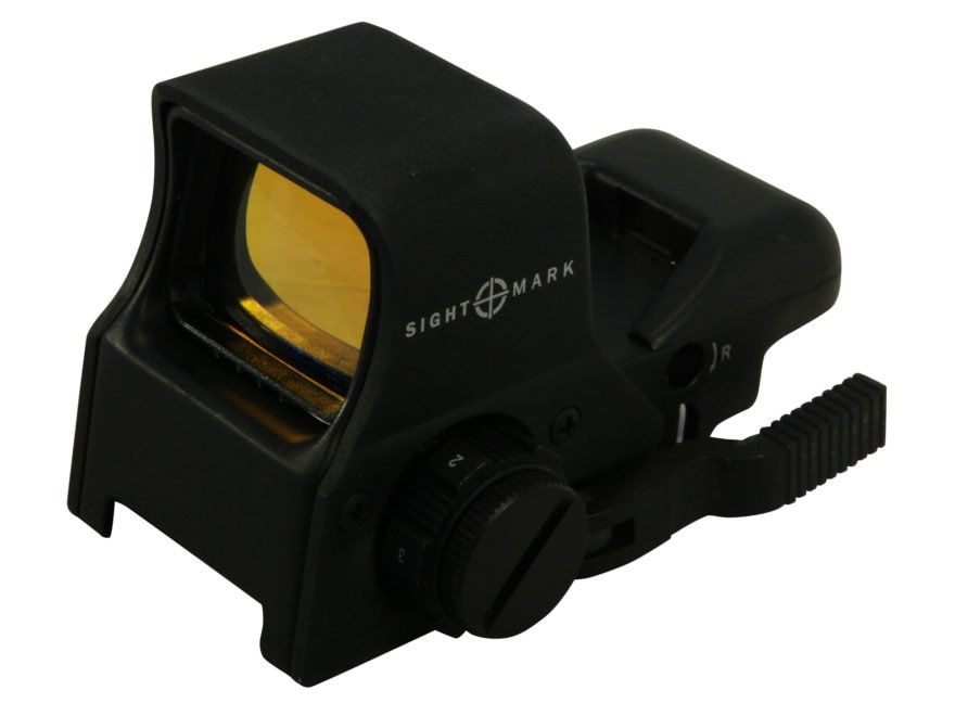 Sightmark Ultra Shot Pro Spec Night Vision Reflex Sight 1x Quick Detach 4 Pattern (Dot,...