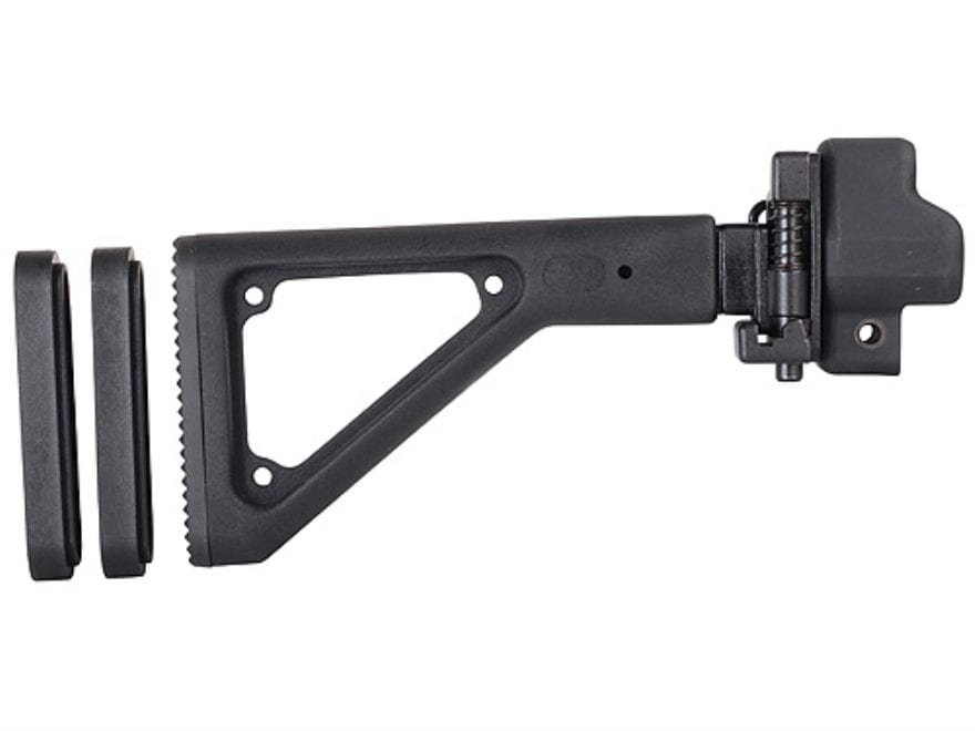 Choate Adjustable Side Folding Stock HK 93 Steel and Synthetic Black