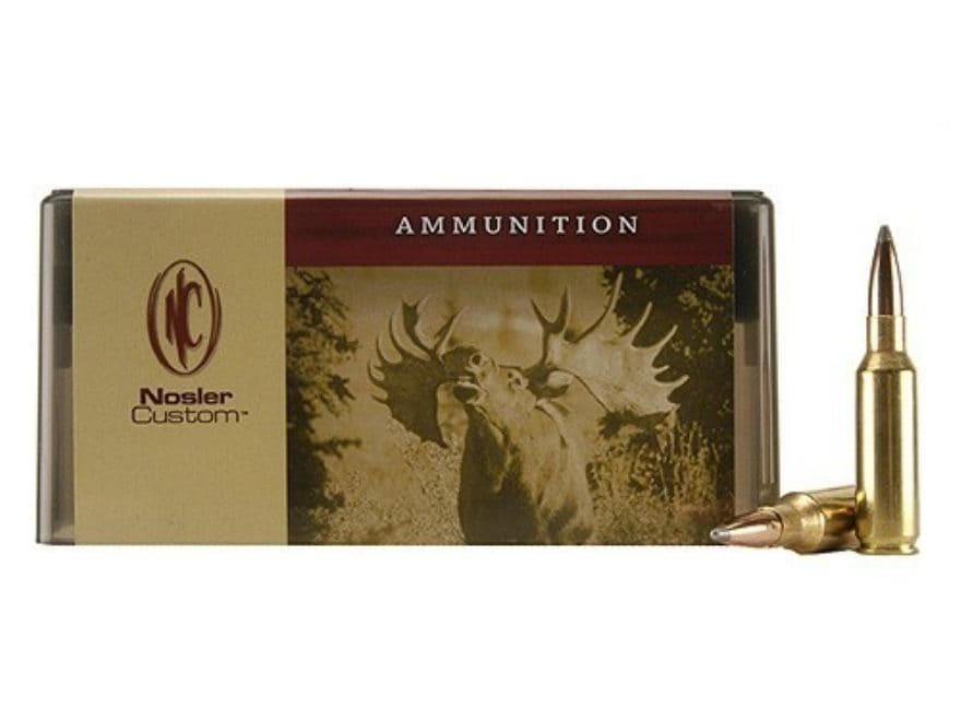Nosler Custom Ammunition 300 Remington Short Action Ultra Magnum 150 Grain Partition Sp...