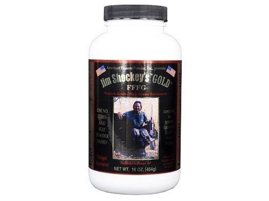 American Pioneer Jim Shockey's Gold FFFg Black Powder Substitute 1 lb