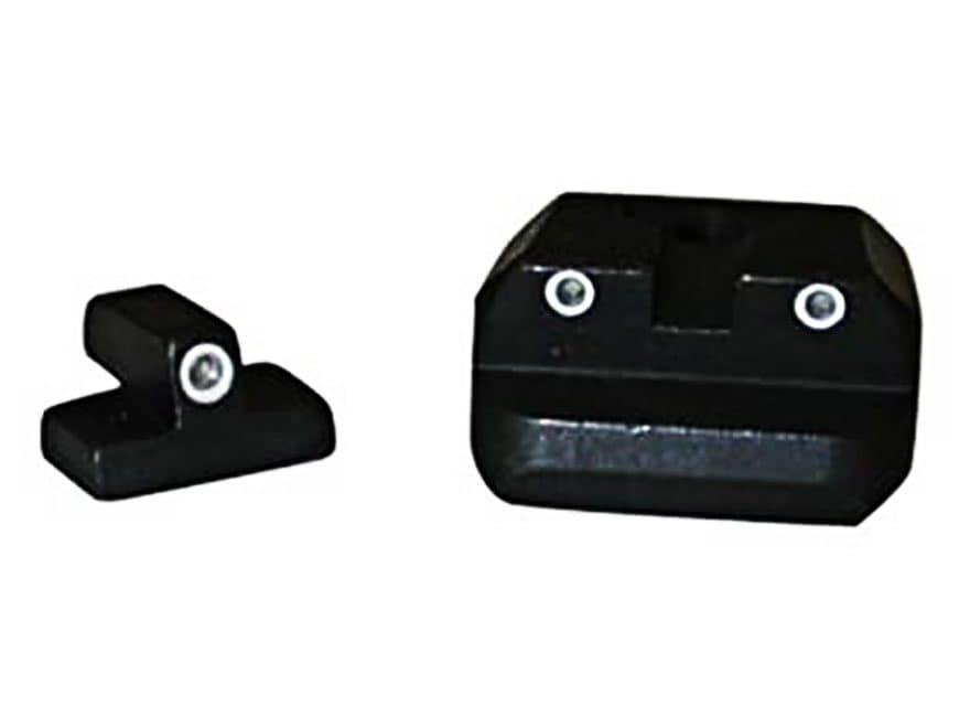 Smith & Wesson Novak Low Mount Carry Night Sight Set S&W 3913, 3914, 3954, 6904, 6906, ...