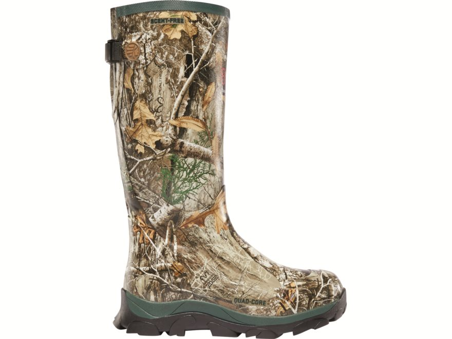 """LaCrosse Switchgrass 15"""" Waterproof 800 Gram Insulated Hunting Boots Rubber Clad Neopre..."""